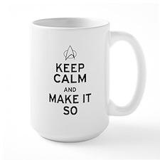 Keep Calm and Make It So Mug