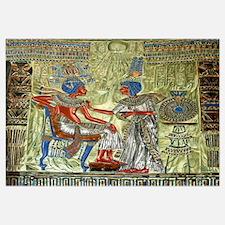 Tutankhamon Throne Wall Art