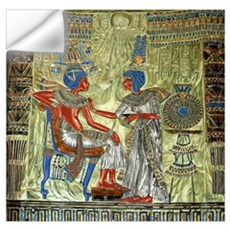 Tutankhamon Throne Wall Art Wall Decal