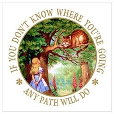 ANY PATH WILL DO Wall Art Canvas Art