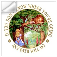 ANY PATH WILL DO Wall Art Wall Decal