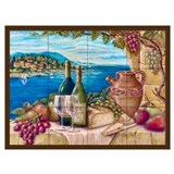 Tuscan Wrapped Canvas Art