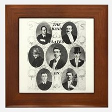 The Wallace Hartley Band Framed Tile
