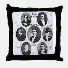 The Wallace Hartley Band Throw Pillow