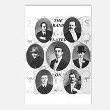 The Wallace Hartley Band Postcards (Package of 8)
