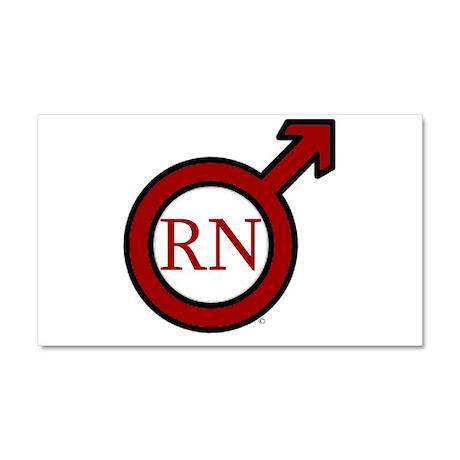 RN Man ©ABEZ 2006 Car Magnet 20 x 12