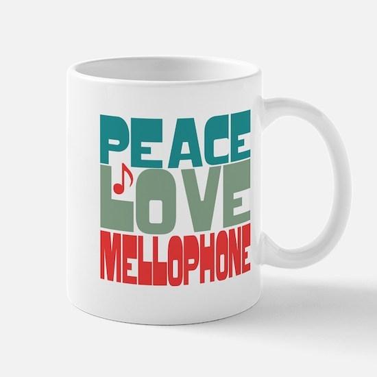 Peace Love Mellophone Mug