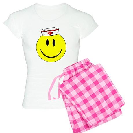RN Happy Face ©ABEZ 2006 Women's Light Pajamas
