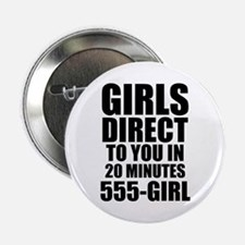 """Girls Direct to You 2.25"""" Button"""
