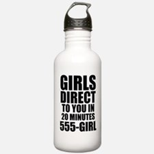 Girls Direct to You Water Bottle