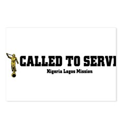 Nigeria Lagos LDS Mission Cal Postcards (Package o