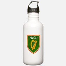 McCue Family Crest Water Bottle