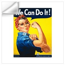Rosie We Can Do It Wall Art Wall Decal