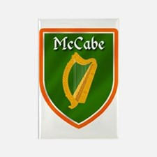 McCabe Family Crest Rectangle Magnet