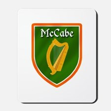 McCabe Family Crest Mousepad