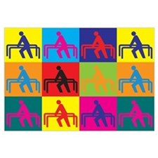 Physical Therapy Pop Art Wall Art