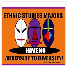 Adversity to Diversity Wall Art Poster