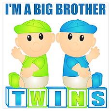 I'm A Big Brother (BBB:blk) Wall Art Poster