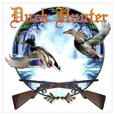 Duck hunter 2 Wall Art Poster