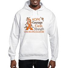 Hope Courage Faith 3 MS Hoodie