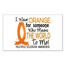Means World To Me 1 Multiple Sclerosis Decal