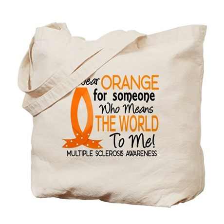 Means World To Me 1 Multiple Sclerosis Tote Bag