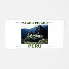 Cute Peru Aluminum License Plate
