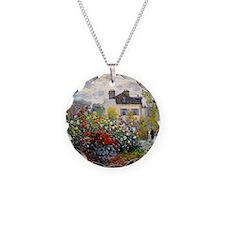 Monet - Argenteuil Necklace Circle Charm