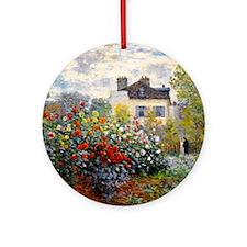 Monet - Argenteuil Ornament (Round)