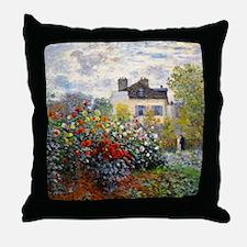 Monet - Argenteuil Throw Pillow