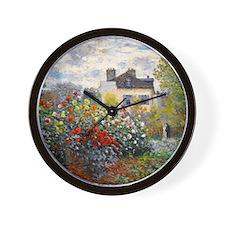 Monet - Argenteuil Wall Clock