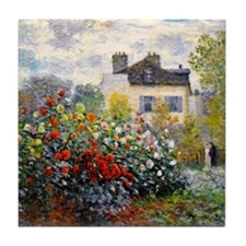 Monet - Argenteuil Tile Coaster