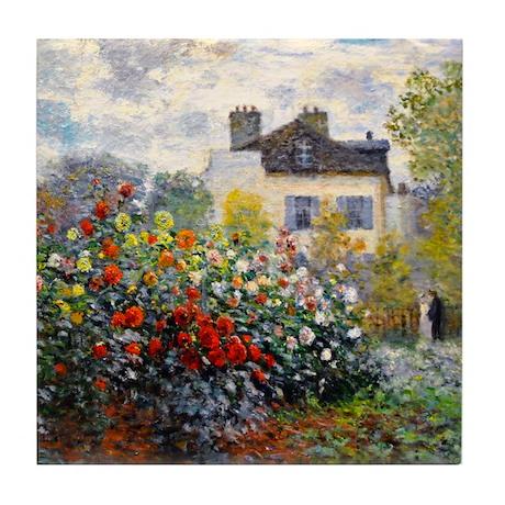 Monet - Argenteuil Tile Coaster