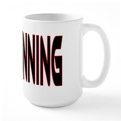 Free Running Large Mug