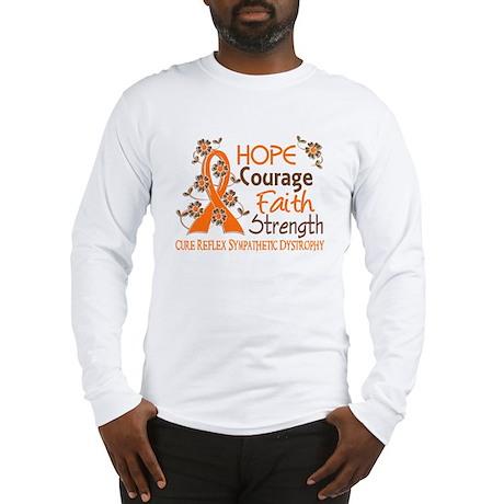 Hope Courage Faith 3 RSD Long Sleeve T-Shirt