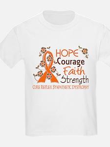 Hope Courage Faith 3 RSD T-Shirt