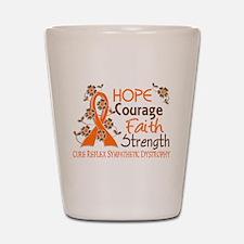 Hope Courage Faith 3 RSD Shot Glass