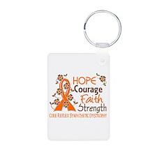 Hope Courage Faith 3 RSD Keychains