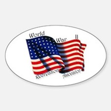 WWIIRA Oval Decal