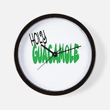 HOLY GUACAMOLE Wall Clock