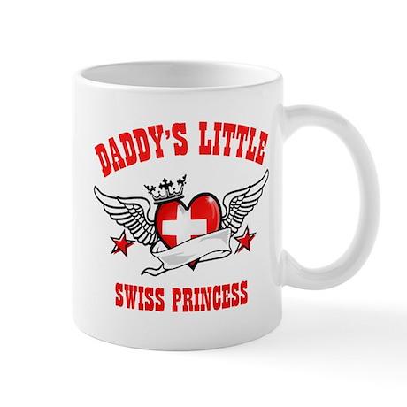 Daddy's Little Swiss Princess Mug