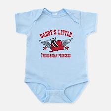 Daddy's Little Trinidadian Princess Infant Bodysui