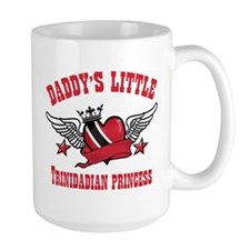 Daddy's Little Trinidadian Princess Mug