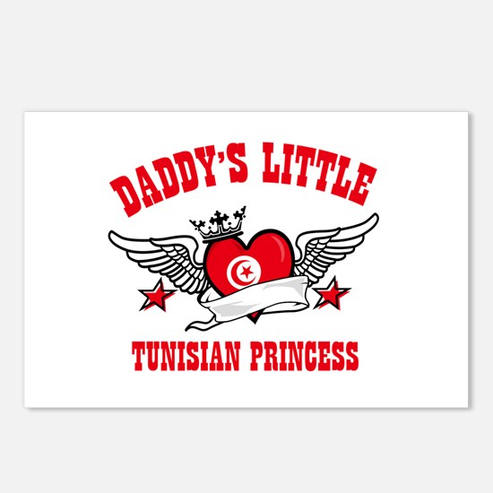 Daddy's Little Tunisian Princess Postcards (Packag