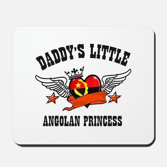 Daddy's Little Angolan Princess Mousepad