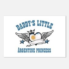 Daddy's Little Argentine Princess Postcards (Packa