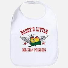 Daddy's little Bolivian Princess Bib