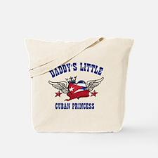 Daddy's little Cuban Princess Tote Bag