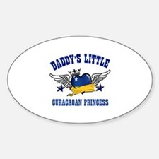 Daddy's Little Curacaoan Princess Decal