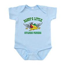 Daddy's little Guyanese Princess Infant Bodysuit